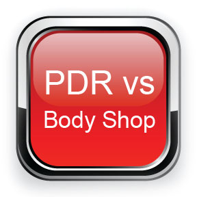 PDR vs Body Shop Work